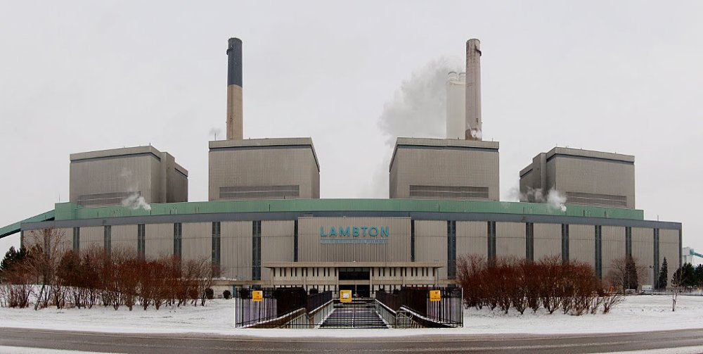 Exploring the Ontario Power Generation Lambton Coal Generating Plant