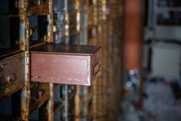 abandoned bank vault lume cube photography
