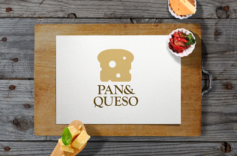Pan & Queso Logo