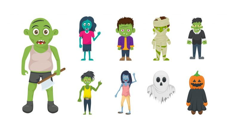 Download Halloween Free Vector Character Icons