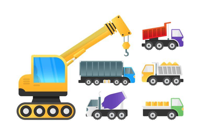 Truck Icons Free Vectors