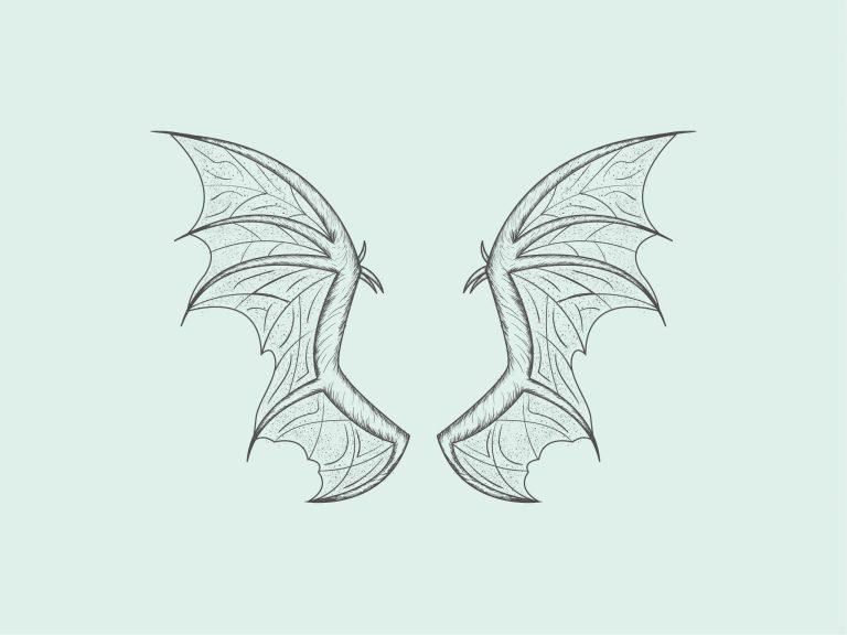 Bat Wings Free Vector Download
