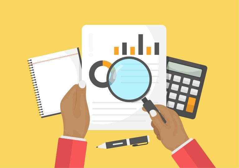 Financial Report Free Vector Art