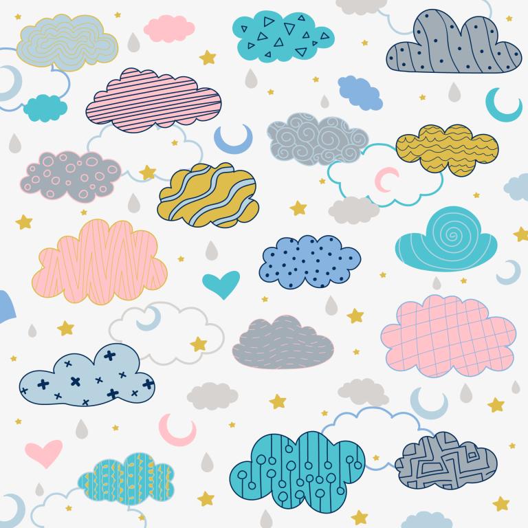 Cloud Background Vector Download