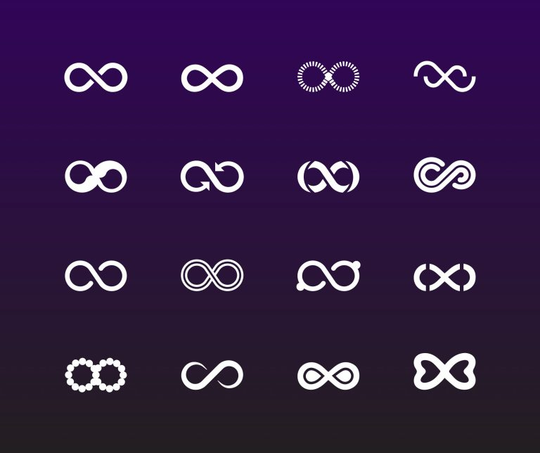 Infinity Symbols Free Vecto