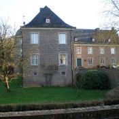 Burg Bachem, Fürstenbergstraße / Schlossstraße