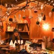 MiPiace Stand von Nicole Schroeder auf dem 11. Königsdorfer Weihnachtsmarkt, Foto: Susanne Neumann