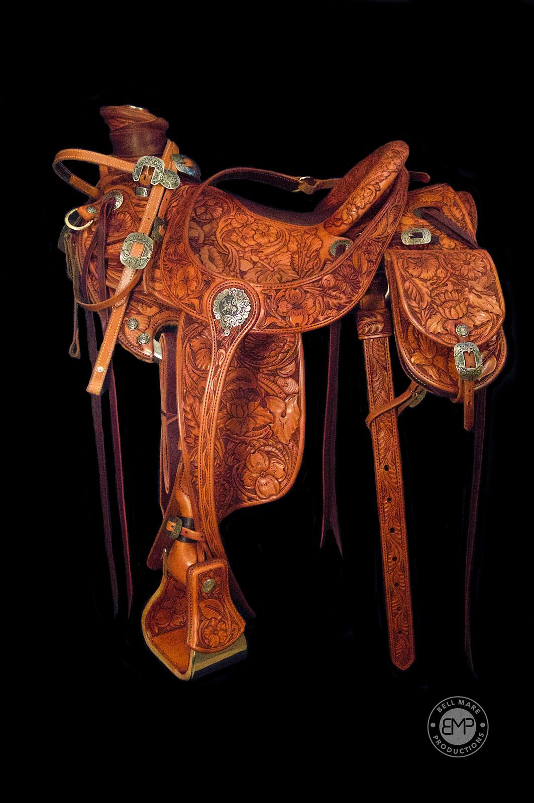 Full Tooled Saddles