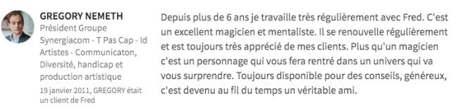 Magicien close up, Magicien close up – Mentaliste close up, Fred Ericksen • Magicien Lyon • Conférencier mentaliste, Fred Ericksen • Magicien Lyon • Conférencier mentaliste