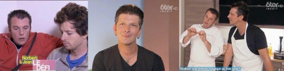 Fred, magicien mentaliste depuis 1987 a participer à l'émission de Norbert & Jean sur M6 66 minutes et 6TER en mélangeant la magie et la cuisine.