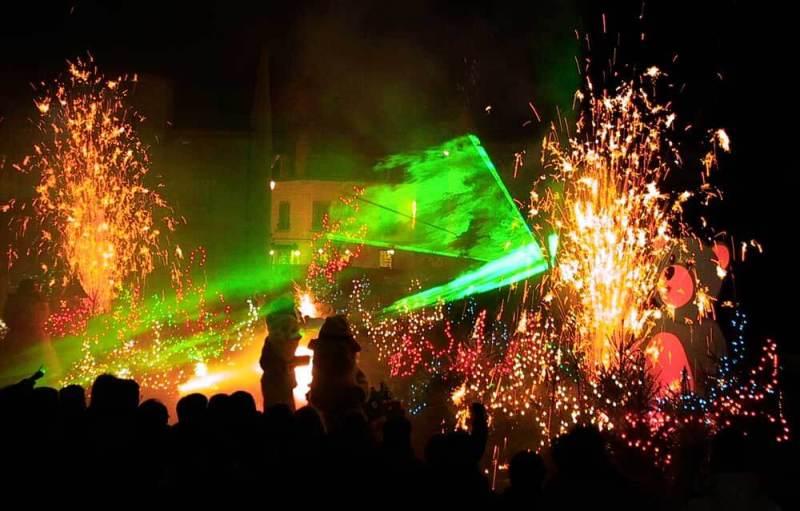 spectacle feu d'artifice 13 juillet