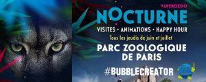Des Bulles au Zoo de Vincennes