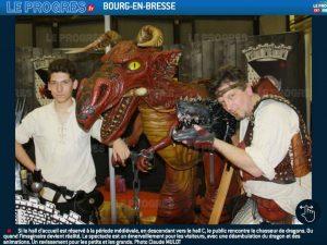 , Le Chasseur de dragon à la foire expo de La Rochelle, Fred Ericksen • Magicien Lyon • Conférencier mentaliste, Fred Ericksen • Magicien Lyon • Conférencier mentaliste