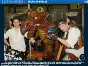 le chasseur de dragons à ainterexpo