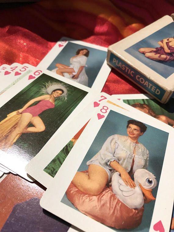 collection privée jeu de cartes sexy