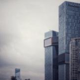 Shenzhen. Tencent. Main office. Modern architecture.