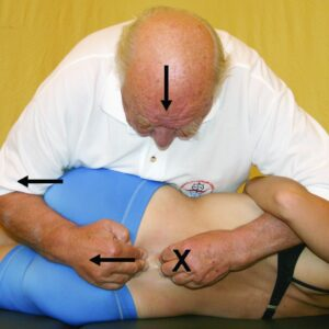 Kaltenborn lumbar traction-manipulation