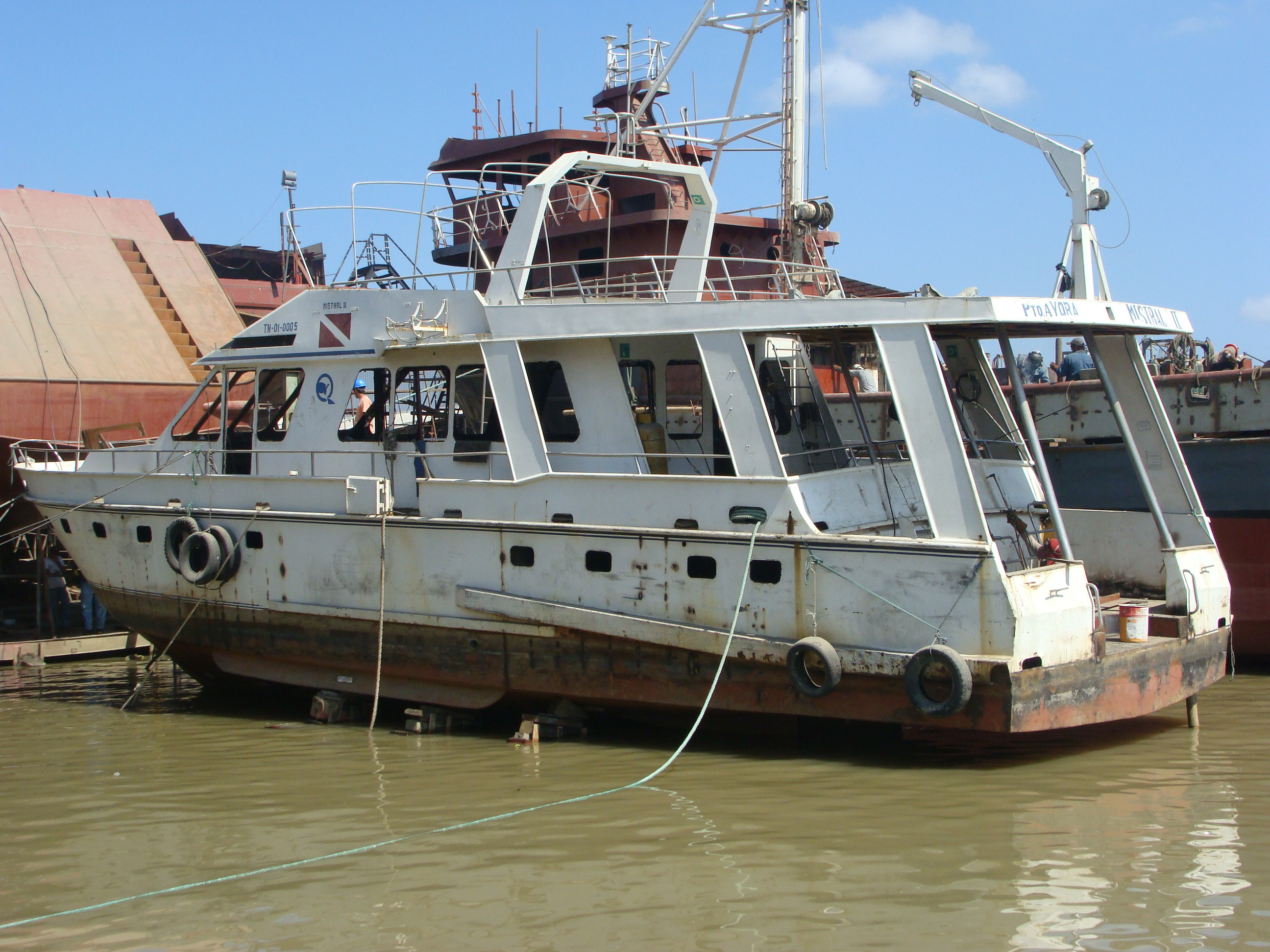 Modification and Repowering of Yacht Sea Lion
