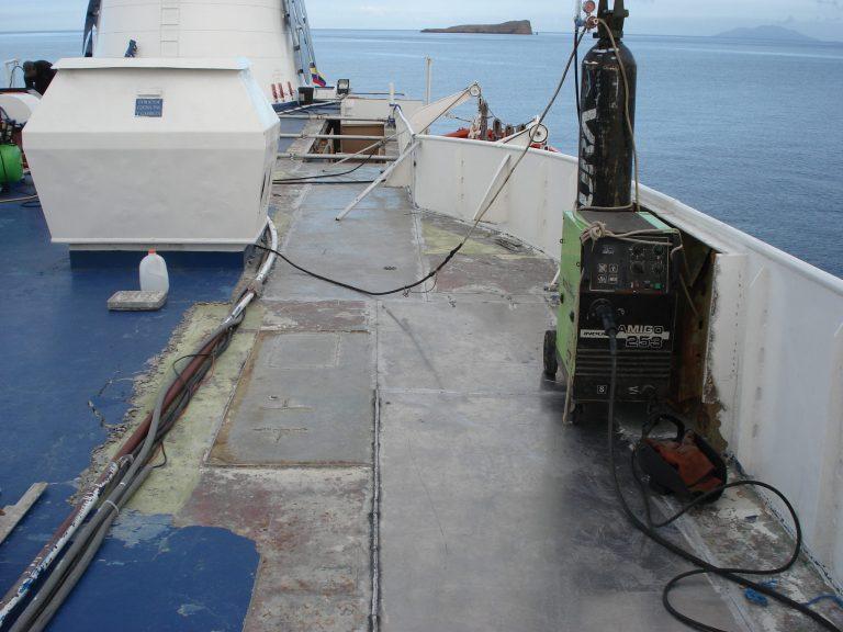 2007 Amplicación de Cabinas en Aluminio al M/V Galapagos Legend
