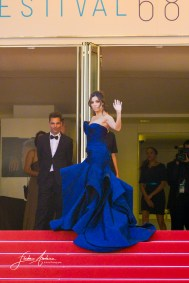 Eva Longoria on the Red Carpet in the Festival Internationnal of the film from Cannes Cannes, May 17, 2015