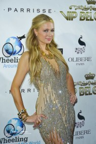 Paris Hilton during the Gala of Wheeling around the world during the 68th Festival International of film in Cannes. Cannes, 18 may 2015, France