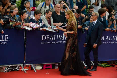 Diane Kruger on the Red carpet during the official opening of the 42th american film festival of Deauville. Deauville, 26 august 2016, France ©F.Andrieu