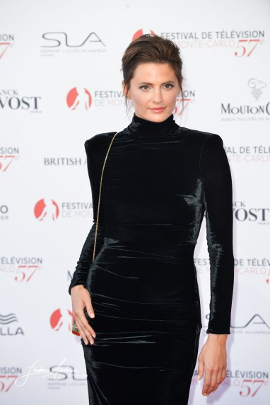 Monte-Carlo, 16 june 2017, Stana Katic on the Red Carpet of the opening ceremony of the 57th Festival Television of Monte Carlo