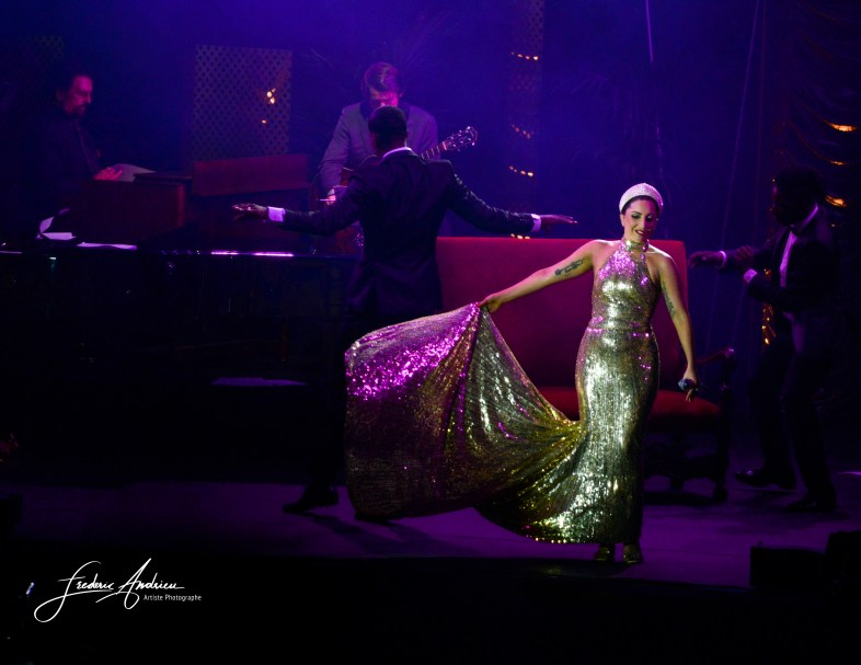 Concert Lady Gaga à la Grand Place de Bruxelles