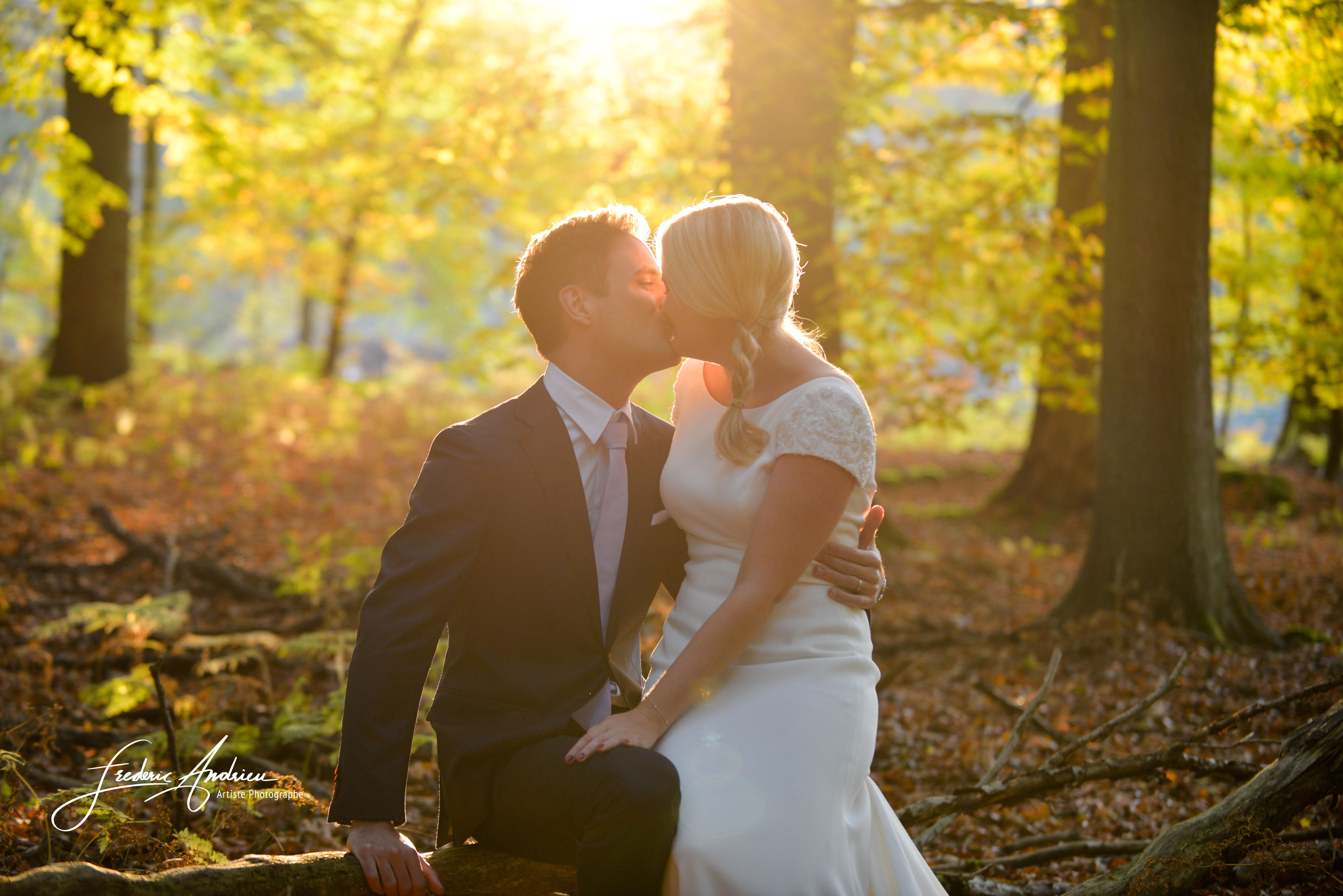 Et pourquoi pas des photos de mariage en automne ?