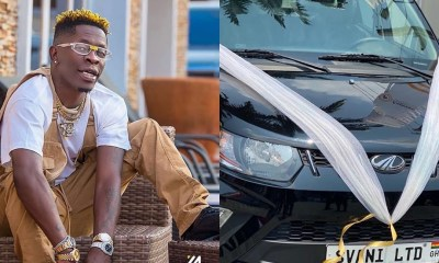 Shatta Wale Crowned And Rewarded With Brand New Car After Clash With Stonebwoy