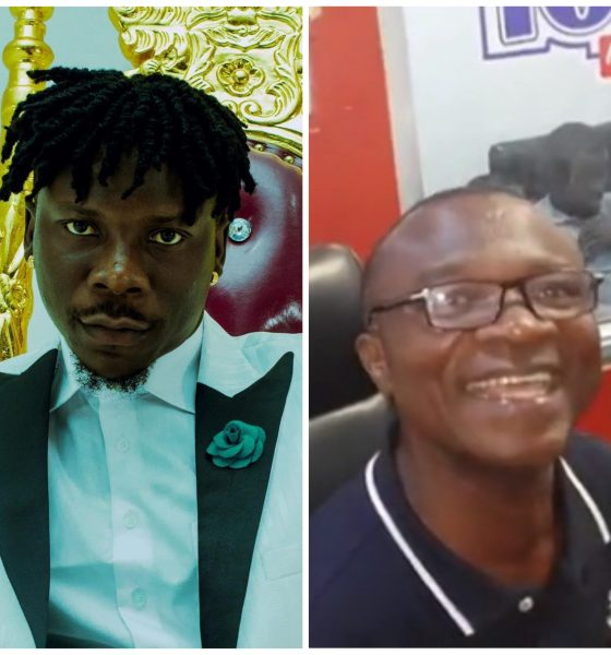 Stonebwoy Finally Meets Agiecoat, Gifts Him A Car