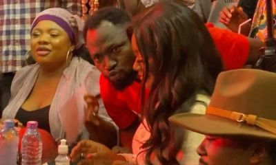 Jackie Appiah Refuse To Kiss Funny Face At Adonko Next Level Launch?