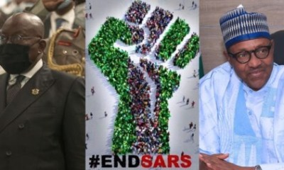 Just In: President Akufo-Addo Finally Breaks His Silence On #EndSars Protest