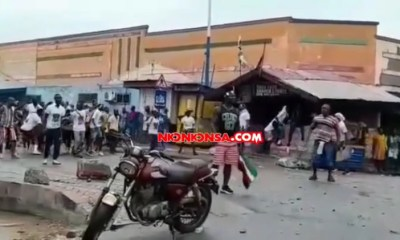 NPP And NDC Supporters Clash At James Town In Odododiodio Constituency