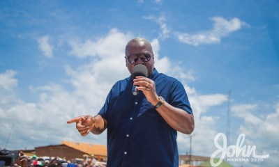 Nana Addo Is Wasting Ghana's Money And Ensuring Wealth For His Family And Friends - John Mahama