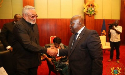 President Akufo-Addo Announces Seven Days Of National Mourning For Former President Rawlings