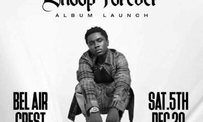 Kweku Smoke set to launch his debut album 'Snoop Forever'