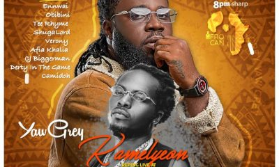 "Kamelyeon meets Yaw Grey with ""Rainbow EP"" at Purple Pub this Saturday"