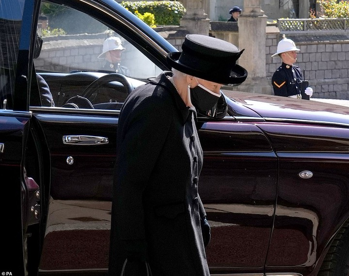 , Queen Elizabeth weeps at Prince Philip's funeral as she followed her beloved husband's coffin to St George's Chapel  , Frederick Nuetei