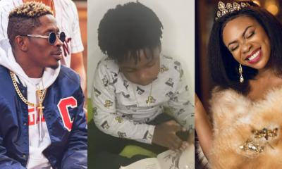 , Shatta Wale's son, Majesty reads fluently in a video; fans praise him, Frederick Nuetei