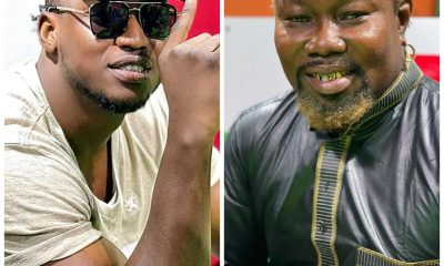 , Musician Gambo gifts Ayitey Powers Ghc1000 after he shared his encounter with late Prophet T.B. Joshua, Frederick Nuetei