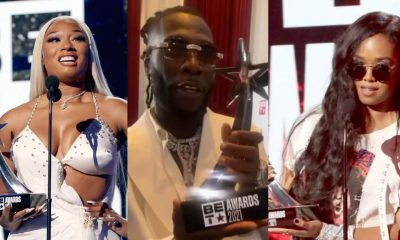 , 2021 BET Awards: Here are the full list of winners, Frederick Nuetei