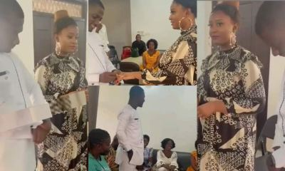 , Zionfelix finally speak on viral 'marriage' video and photos, Frederick Nuetei