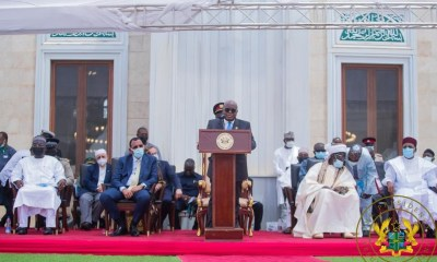 , Photos: Akufo-Addo commissions Ghana's National Mosque for public use, Frederick Nuetei