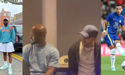 , Watch: Chelsea star Hakim Ziyech hangout with King Promise; jams to his songs, Frederick Nuetei