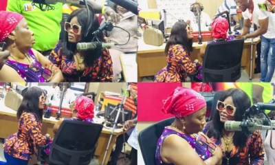 , Shatta Wale's new girl Magluv drops tears as she kneels before his mother to beg, Frederick Nuetei
