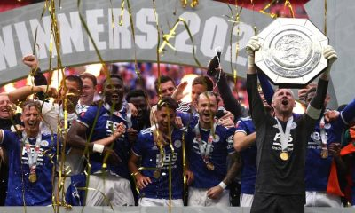 , FA Community shield: Nigeria international Ihenacho scores only goal as Leicester sink Manchester City, Frederick Nuetei