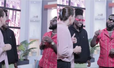 , Bisa Kdei teaches French Ambassador lyrics of 'Brother Brother' in new video, Frederick Nuetei