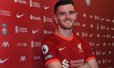 , Andy Robertson signs a long term contract with Liverpool, Frederick Nuetei