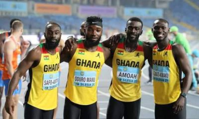 , Tokyo 2020: Ghanaian sprinters react after disqualified in 4×100 finals, Frederick Nuetei